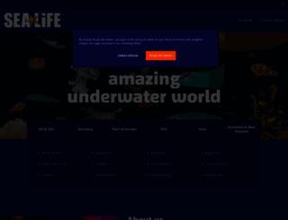 sealife.co.uk screenshot