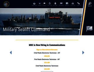 sealiftcommand.com screenshot