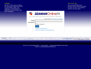 seamanonline.ph screenshot