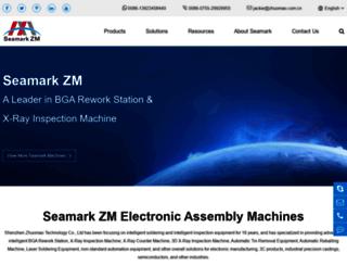 seamarkzm.com screenshot