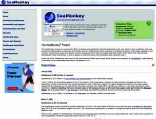 seamonkey-project.org screenshot
