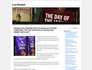 seanbfraser.com screenshot