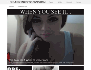 seankingstonvision.net screenshot