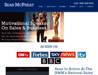 seanmcpheat.com screenshot
