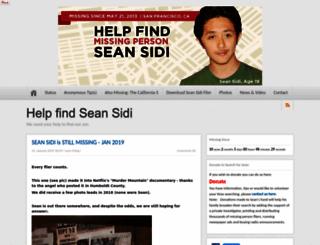 seansidi.com screenshot