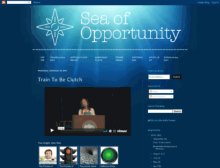 seaofopportunity.blogspot.com screenshot