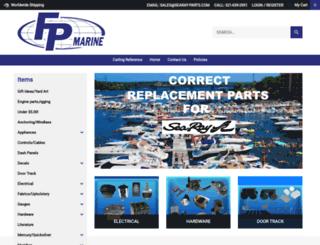 searay-parts.com screenshot