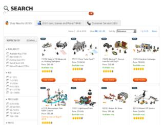 search-en.lego.com screenshot