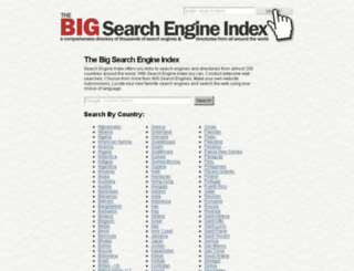 search-engine-index.co.uk screenshot
