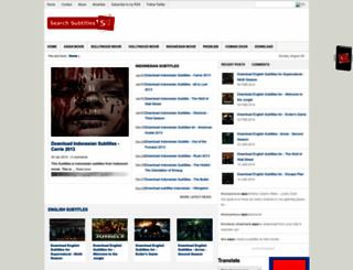 search-subtitles.blogspot.com screenshot