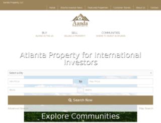 search.aanda.property screenshot