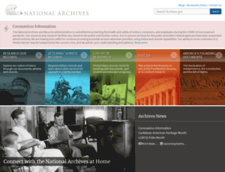 search.archives.gov screenshot
