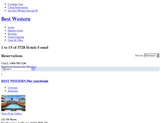 search.bestwestern.com screenshot
