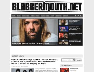 search.blabbermouth.net screenshot