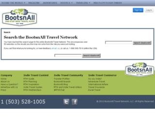 search.bootsnall.com screenshot