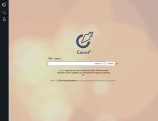 search.carrot2.org screenshot