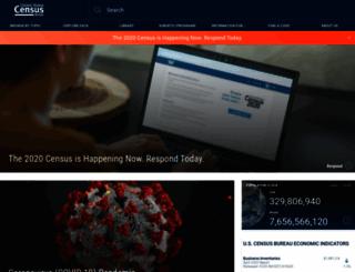 search.census.gov screenshot
