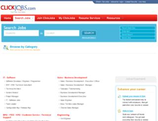 search.clickjobs.com screenshot