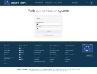search.coe.int screenshot
