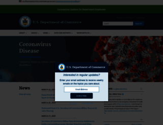 search.commerce.gov screenshot