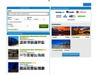 search.comparehotels.ae screenshot