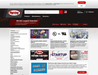 search.digikey.com screenshot