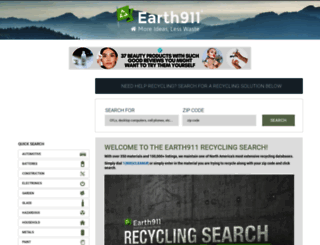 search.earth911.com screenshot