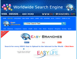 search.easybranches.com screenshot