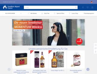 search.frankfurt-airport.com screenshot