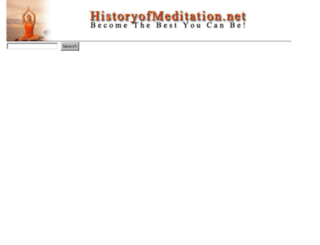 search.historyofmeditation.net screenshot