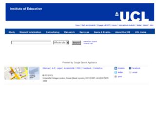 search.ioe.ac.uk screenshot