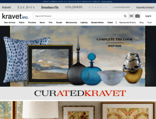 search.kravet.com screenshot