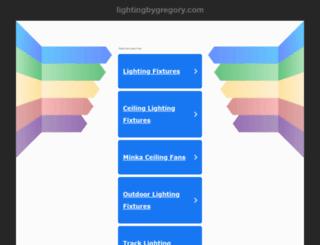 search.lightingbygregory.com screenshot