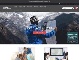 search.maps.com screenshot