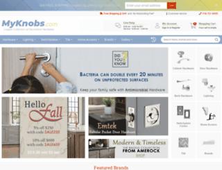 search.myknobs.com screenshot