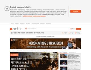 search.net.hr screenshot