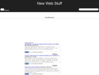 search.newwebstuff.com screenshot