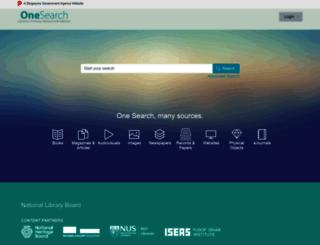 search.nlb.gov.sg screenshot