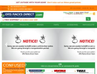 search.orsracksdirect.com screenshot