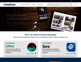search.overdrive.com screenshot