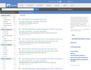 search.qad.com screenshot