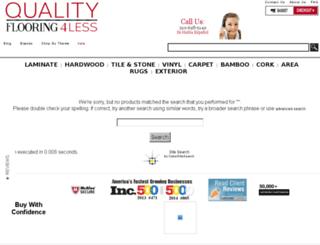 search.qualityflooring4less.com screenshot