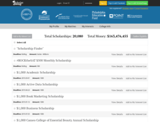 search.scholarswag.com screenshot