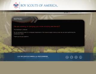 search.scouting.org screenshot