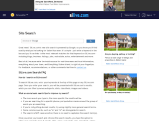 search.silive.com screenshot