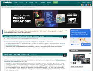 search.slashdot.org screenshot