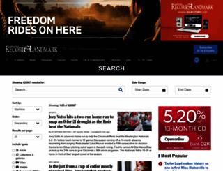 search.statesville.com screenshot