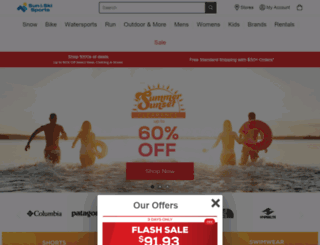 search.sunandski.com screenshot
