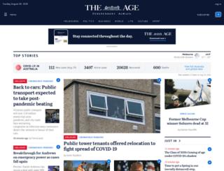 search.theage.com.au screenshot