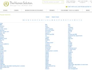 search.thehumansolution.com screenshot